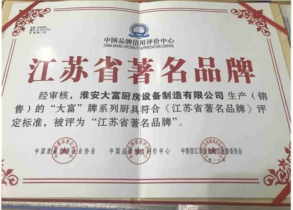 江苏省著名品牌